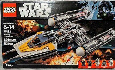 New LEGO Star Wars Y-Wing Starfighter Set 75172 sealed Moroff Admiral Raddus