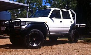 1991 TOYOTA LANDCRUISER DUAL CAB CONVERSION Cooktown Cook Area Preview