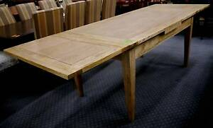New Classic Oak Timber French Provincial Extension Dining Tables Melbourne CBD Melbourne City Preview