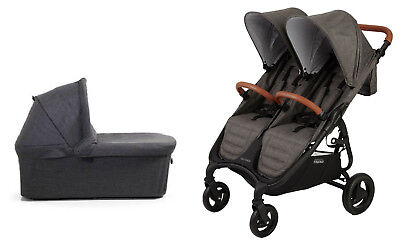 Valco Snap DUO Trend Stroller and Bassinet in Charcoal Brand New!! for sale  Towson