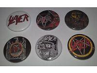 Slayer Pin Anstecker Music Thrash Metal Band Big Four