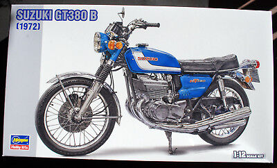 1972 Suzuki GT 380 B 1:12 Hasegawa 21505