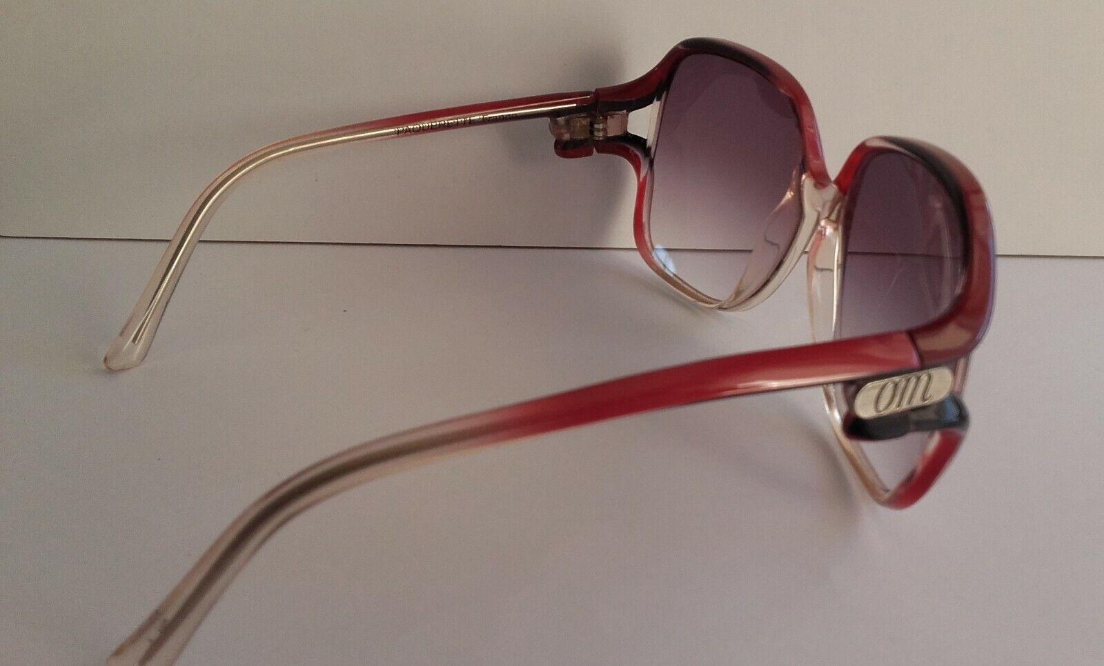 lunettes soleil vintage olvier monclair annÉe 70/80 ls om2b