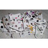 Wholesale Earrings Lot Pierced New 50 Pairs Assorted Stud Rhinestone Lot