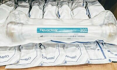 Lot Of 24 Gambro Revaclear 300 Capillary Dialyzer Exp 122019 Factory Sealed