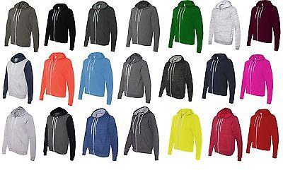 Bella Hooded Sweatshirt - Bella  Canvas - Unisex Full-Zip Hooded Sweatshirt Mens Womens Zipped Hoodie 3739