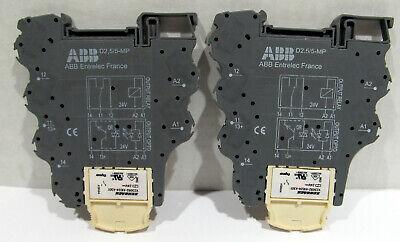 Nos Abb Relay Block 1sna607264r1100 Schrack V23092-a1024-a301 Lot Of 2