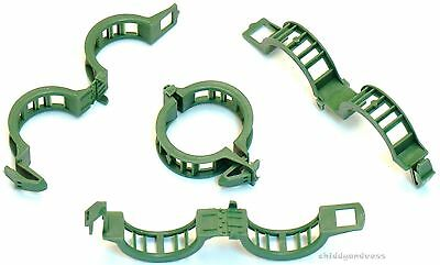 100 Green/Recycled Tomato Trellis Clips (Reusable Supports ...