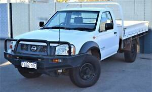 2002 D22 NISSAN NAVARA DX 4x4 TRAY BACK Beckenham Gosnells Area Preview
