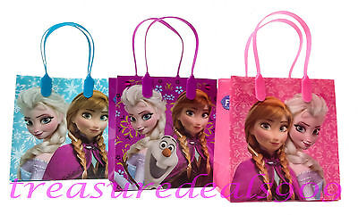 6 PCS DISNEY FROZEN ELSA ANNA OLAF GOODIE GIFT BAGS PARTY FAVORS TREAT BIRTHDAY - Olaf Birthday