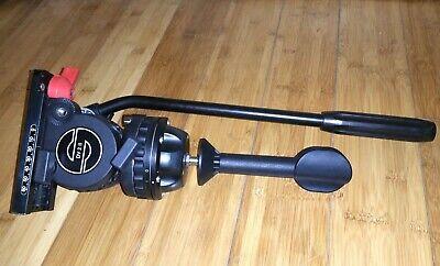 Sachtler DV2 II Fluid Video Tripod Head 75mm Ball with Quick release Plate Great