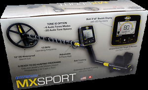 MX Sport White's metal detector