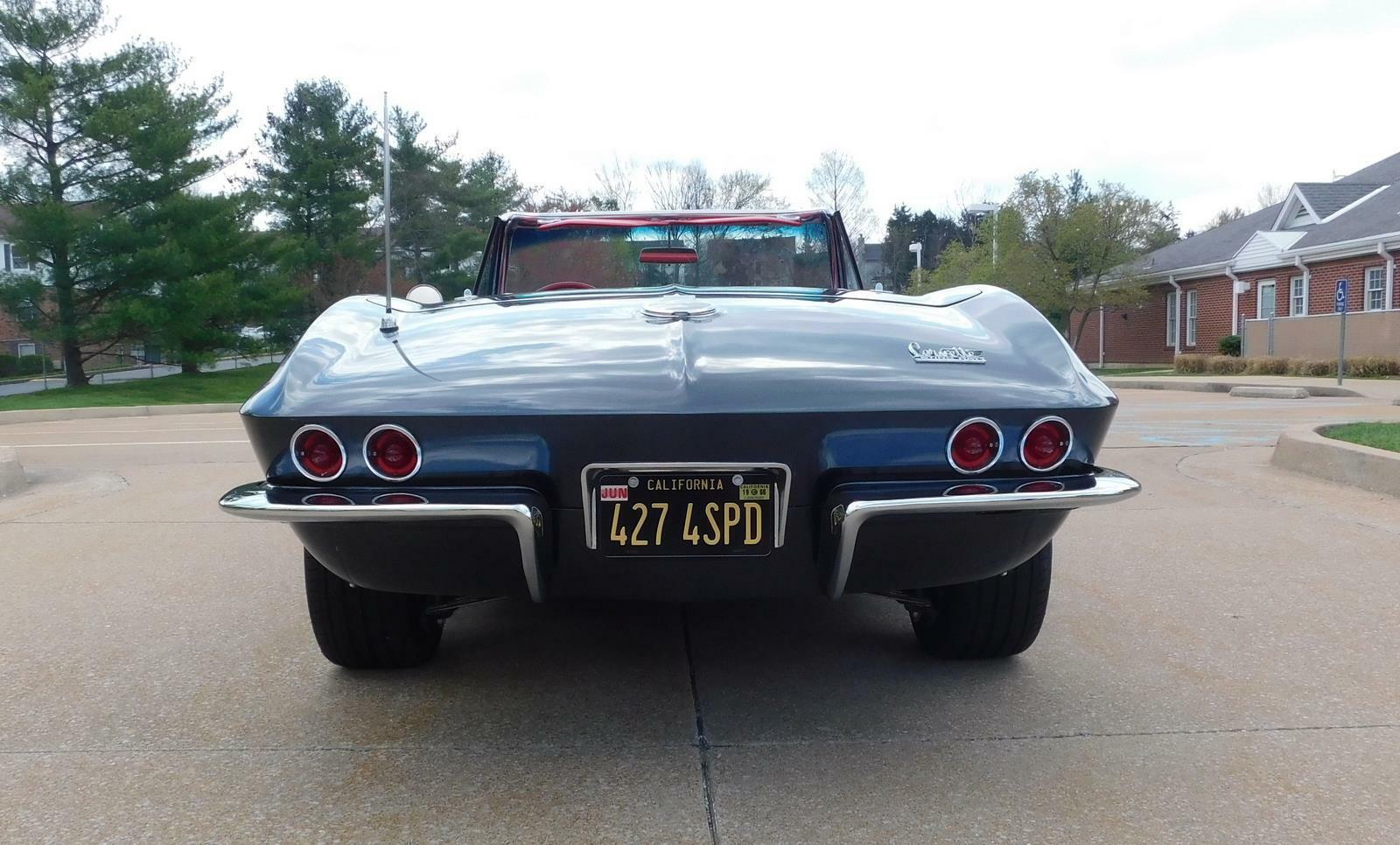 1966 Gray Chevrolet Corvette     C2 Corvette Photo 4