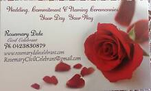Rosemary Dale Marriage/Wedding Celebrant Bethania Logan Area Preview