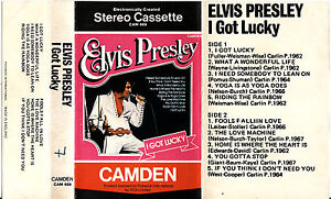 ELVIS PRESLEY, RARE MUSIC CASSETTES, 2 DIFFERENT TO CHOOSE FROM.