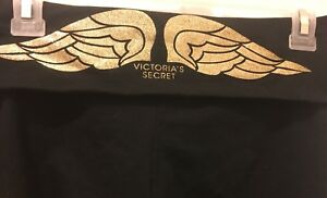 Brand new S Victoria's secret glitter fold over crop leggings