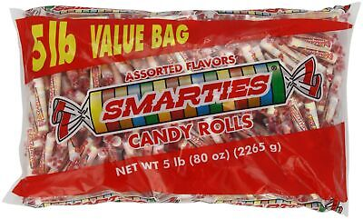 Smarties Candy Rolls, 5 Pound