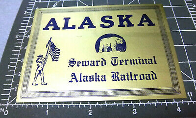 Herald King decals HO Alaska Railroad 5.25/'   heralds   XX231