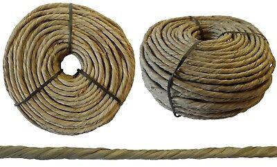 Binsenschnur gedreht Flechtschnur aus Seegras natur Ø 5-7mm 1 kg