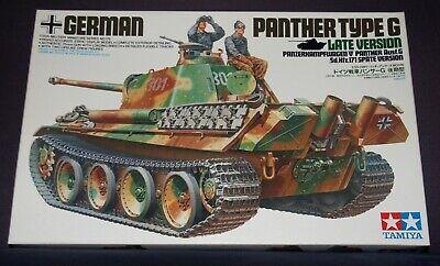 Tamiya 35176 - Panzerkampfwagen V Panther G , Sd.Kfz 171 (späte Version) , 1:35