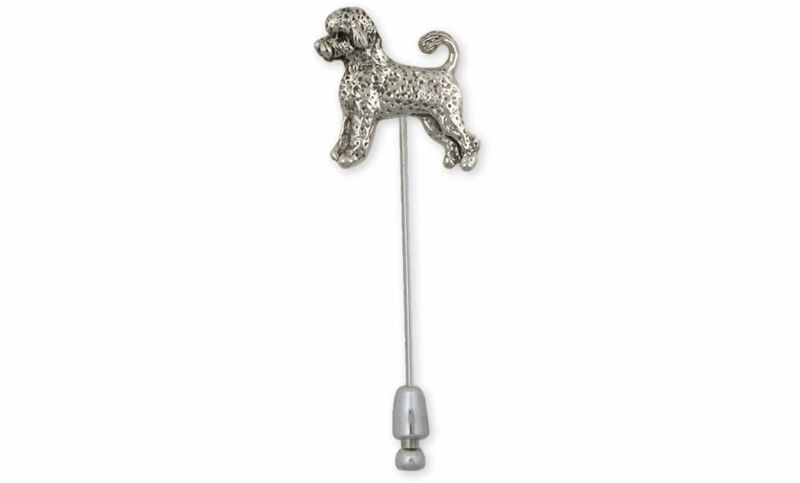 Portuguese Water Dog Jewelry Sterling Silver Handmade Portuguese Water Dog Brooc