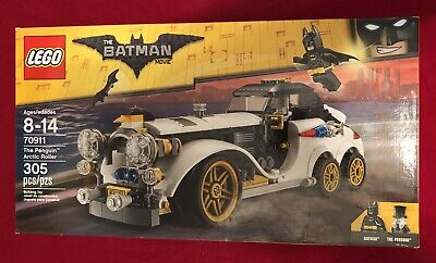 LEGO 70911 RETIRED BATMAN MOVIE THE PENGUIN ARCTIC ROLLER, NEW AND SEALED