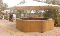 8-Eck Pavillon – Grillhütte – Beach –Theke – Bar -mieten Nordrhein-Westfalen - Harsewinkel - Greffen Vorschau