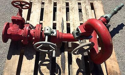 Fairbanks 150-8 800 Wog Bronze Cannon Fire Pump Monitor