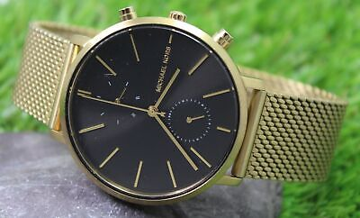 MICHAEL KORS Men's Gold Stainless Steel Quartz Watch MK-8503