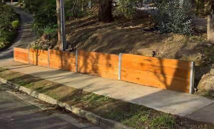 Retaining Walls, Garden Beds, Garden Steps, Eltham