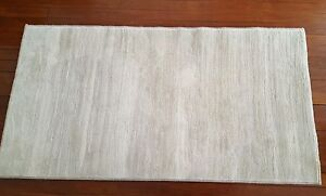 Cream Wool Rug 80cm x 150cm - Excellent Condition St Ives Ku-ring-gai Area Preview