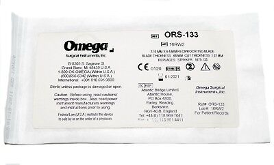Omega Ors-133 Reciprocating Blades - Replaces Stryker 1675-133