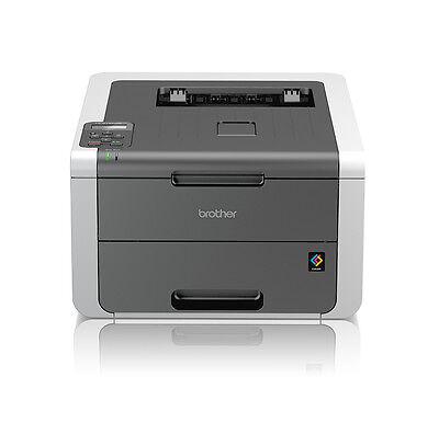 Brother HL-3142CW Farblaserdrucker A4 Drucker WLAN LCD-Display USB iPrint