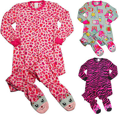 Feet Long Sleeve - Komar Kids Girls Long Sleeve One Piece Blanket Sleeper with Feet Pajamas
