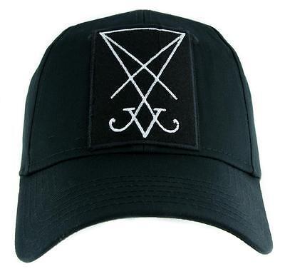 The Sigil de Lucifer Casquette Baseball Occulte Vêtements Sceau Satan Symbole