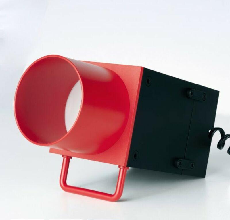 Ikea Teenage Engineering Frekvens LED Spotlight Accessories Limited Edition Red