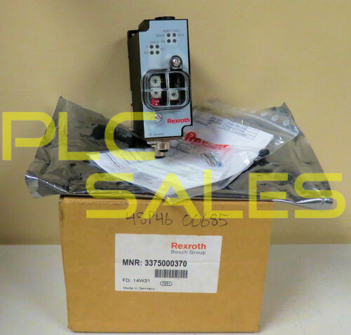 REXROTH 337 500 037 0  |   DeviceNet Pneumatic Valve Driver v4.3  *NEW*