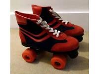 Retro Roller Skates Size 6.5-7