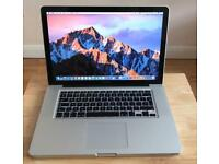 "MacBook Pro 15.4"" 2011 (16GB RAM) (750GB HARD DRIVE) intel core i7 + Ms office + more"
