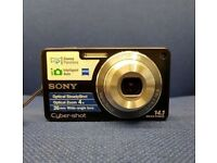 SONY CYBERSHOT DSC-W350 DIGITAL CAMERA WITH RECEIPT