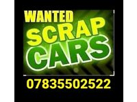 SCRAP VAN CARS WANTED TODAY