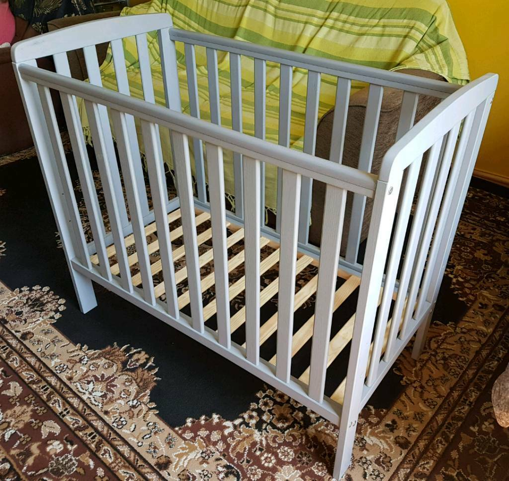 online retailer 46f50 65d23 George Rafferty Compact Cot Grey & Mattress | in Maltby, South Yorkshire |  Gumtree