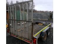 12ft x 6ft indespension plant trailer
