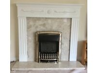 Fireplace Surround, Insert and Hearth
