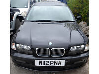 2000 - BMW - Petrol - Saloon in Black - For Sale.