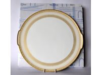 Brand New & Boxed Villeroy & Boch Samarkand Cake Plate