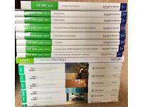 CFA I 2015 FULL PACKAGE (Kaplan+CFAi books, inc revision)