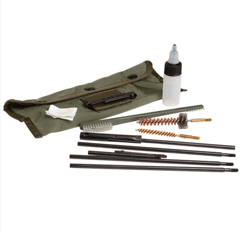Kit Limpieza Fusil HK G36 calibre 5,56 Famas M16  Miltec con bolsa transporte