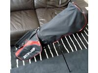 Dunlop 65i Woods, Driving Iron and Bag