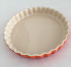 Le Creuset Stoneware Fluted Flan Dish 25cm